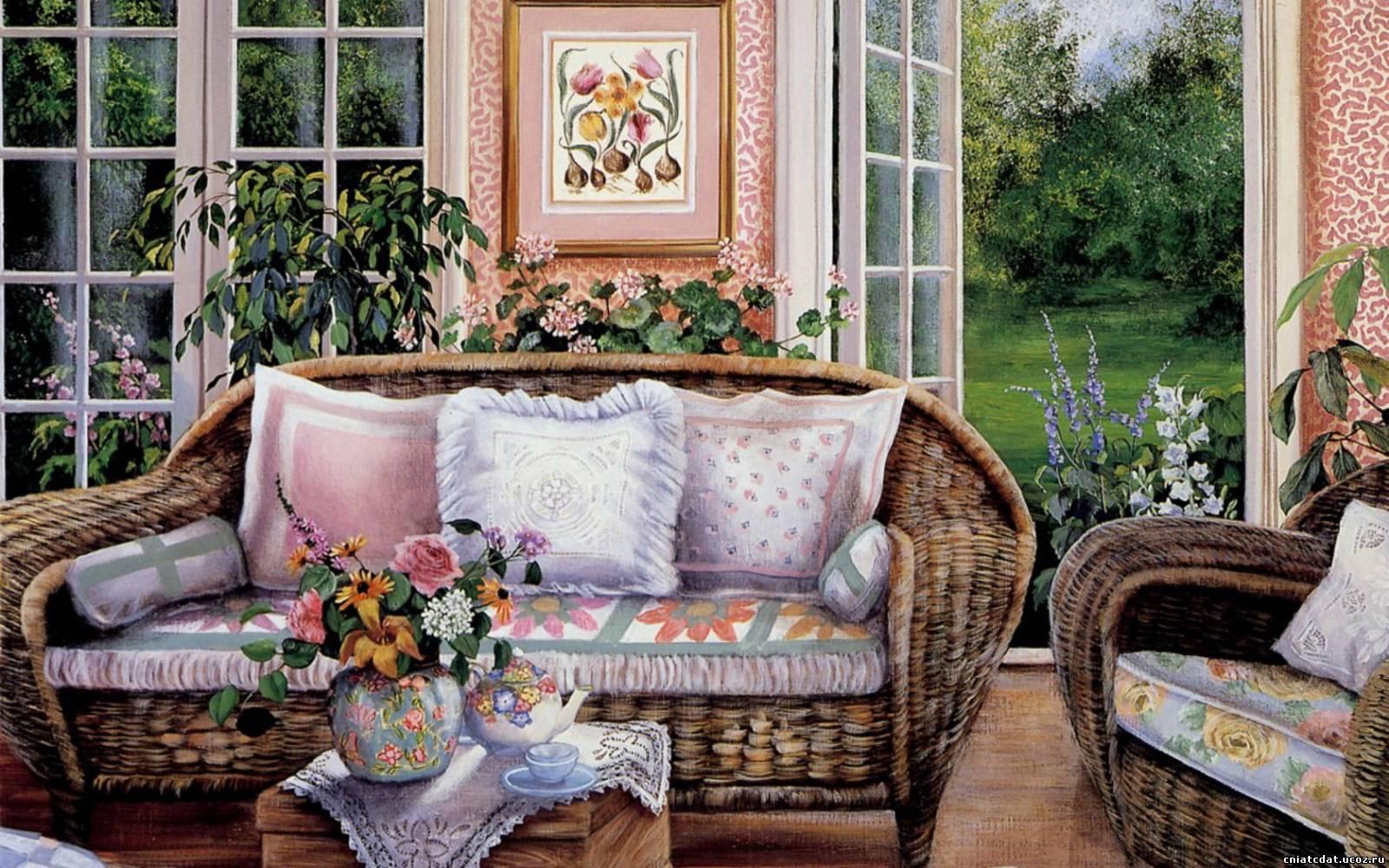 Уютный дом своими руками картины